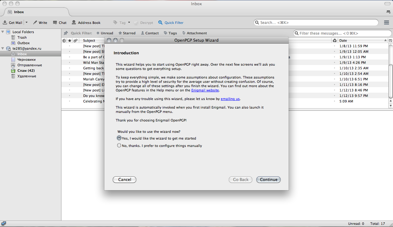How to Configure & Use PGP Encryption for Email (Mac OSX