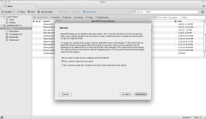 How to Configure and Use PGP Encryption for Email - Mac Instructions (15 of 25)